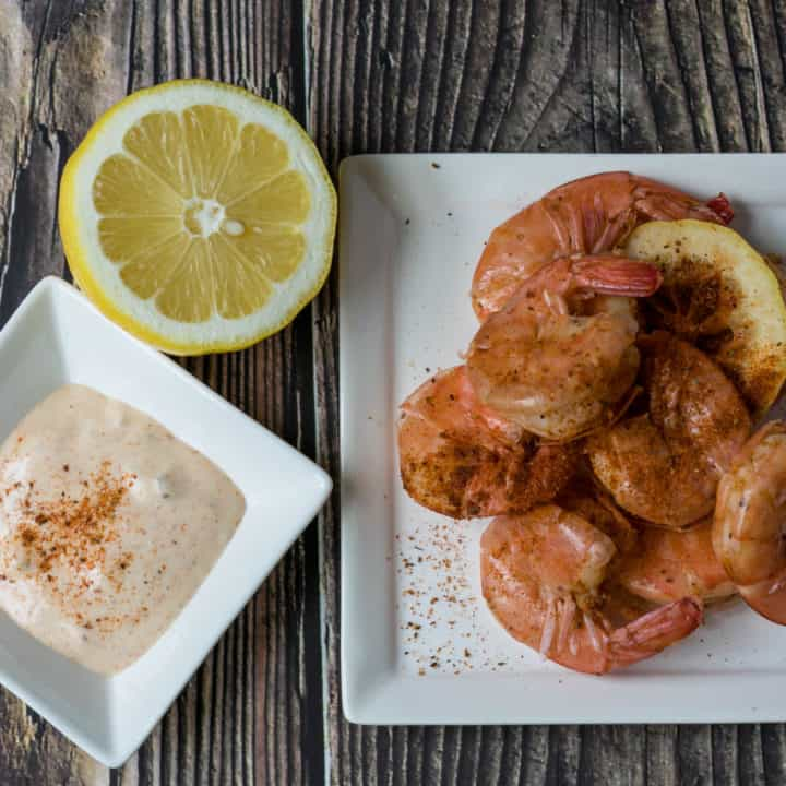 Old Bay Shrimp with Dipping Sauce