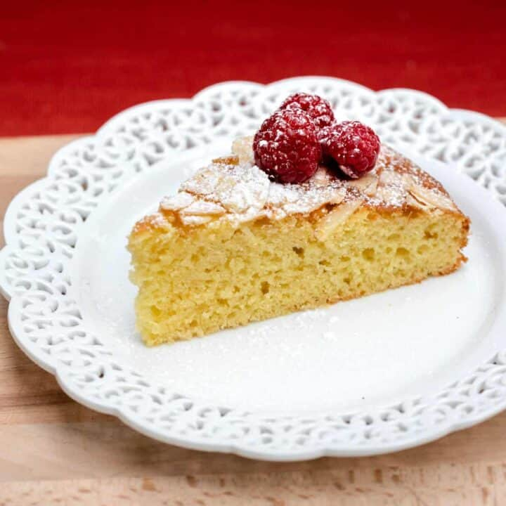 French Yogurt Cake with Almonds