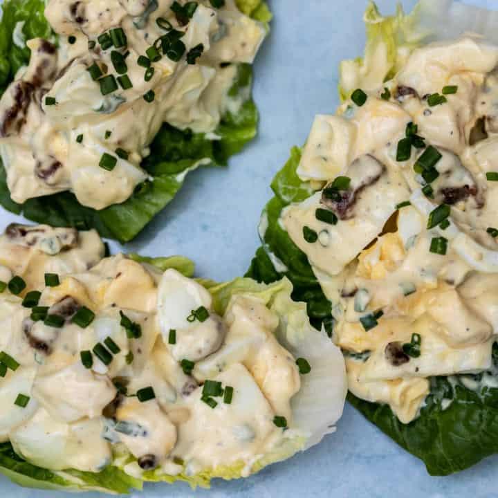 Egg Salad With Bacon Vanilla Bean Cuisine Recipes