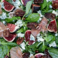 Fig Salad with Blue Cheese