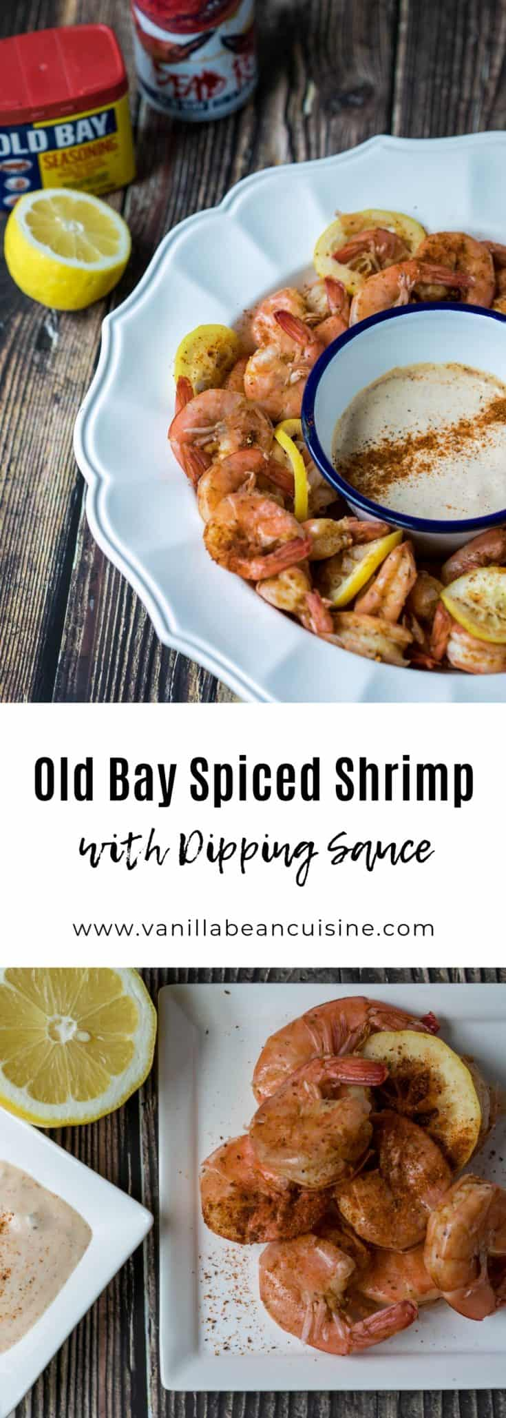 Old Bay Seasoning is a religion in the Mid-Atlantic. Try these shrimp quick-boiled in beer and Old Bay and served with a creamy dipping sauce.