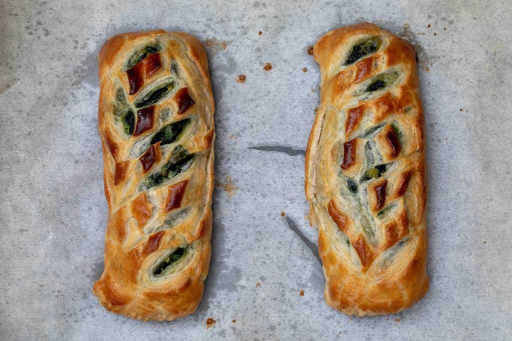 baked salmon wellington