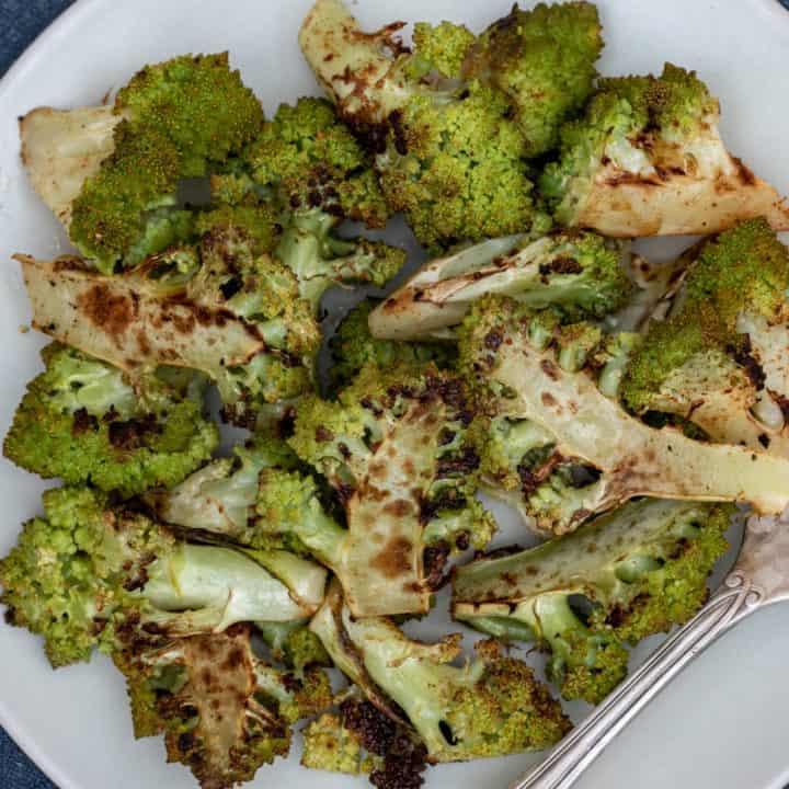Roasted Romanesco Broccoli