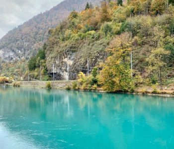 view of water at Interlaken, Switzerland