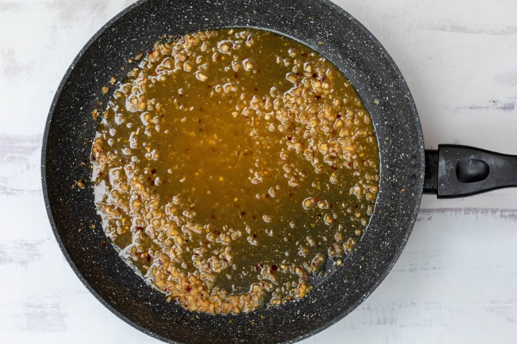 sauce for spicy scallop scampi