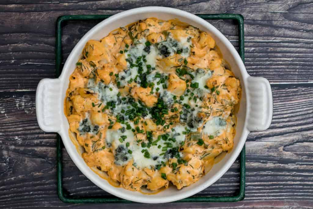 Baked Buffalo Cauliflower Dip