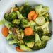 bowl of roasted broccoli and carrots